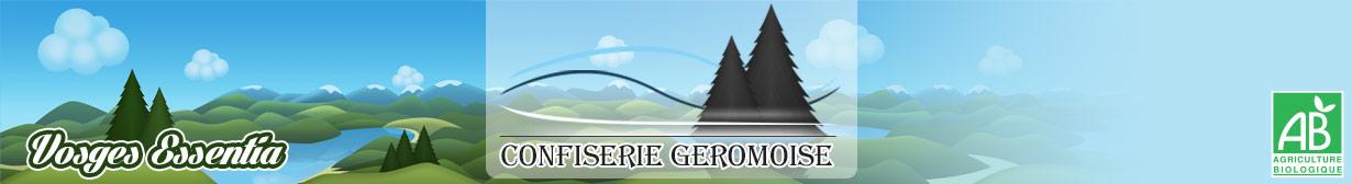 Accueil boutique de la Confiserie Géromoise : bonbons des Vosges biologiques