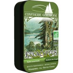 Bonbons à l'huile essentielle d'eucalyptus
