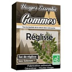 Gommes bio à la Réglisse (suc de réglisse)