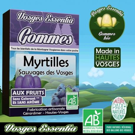 Gommes aux myrtilles sauvages