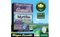 Gommes bio aux myrtilles sauvages