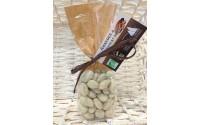 Chocolat enrobé Amandes - Chocolat Blanc