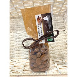 Chocolat enrobé Amandes - Chocolat Noir